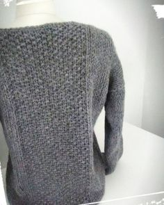 Comment faire un pull douillet ? - Mon blabla de fille - Lilly is Love Girls Sweaters, Cozy Sweaters, Long Sleeve Sweater, Men Sweater, Hair And Beard Styles, Couture, Hats For Men, Retro Fashion, Knit Fashion