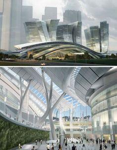 5M SF of Sleek: World's Largest Subterranean Rail Station