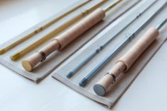 Two fiberglass rods from Blue Halo - Rod Building