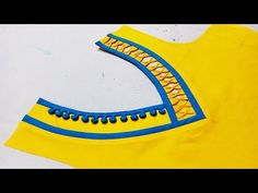 Creative and very latest V neck design 2018 cutting and stitching - YouTube