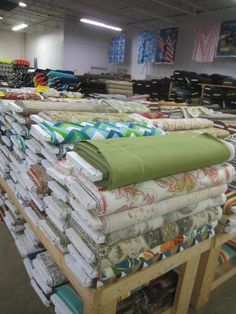 Don't forget to explore the clearance section. Prices in the Clearance Corner are often as little as 50 cents a yard. Fabric Crafts, Sewing Crafts, Sewing Projects, Diy Crafts, Buy Fabric, Fabric Shop, Cotton Fabric, Stoff Outlet, Sewing Hacks