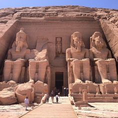 Hotel Bee - Travel tips and Travel Guides Ancient Egyptian Architecture, Ancient Egyptian Art, Ancient Ruins, Ancient History, Site Archéologique, Kairo, Visit Egypt, Egypt Travel, Ancient Civilizations
