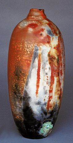 Vicki Hardin - Pit Fired Ceramic Vessel