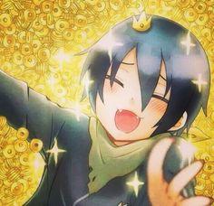 Happy Yato with money | Noragami☆°