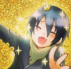 Happy Yato with money | Noragami☆°