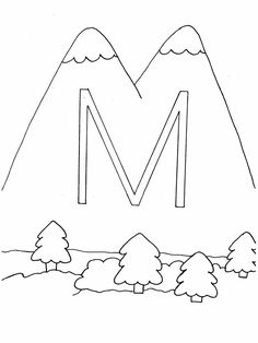 letter coloring pages n letter coloring pages o letter coloring ...