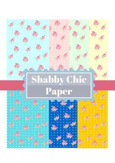 Shabby Chic free printables