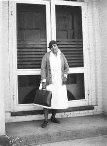 Visiting African American Nurse, 1936