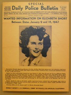 An article from Salon about the Black Dahlia case. An interview with an amateur historian about the LAPD's museum display, with several pictures of items from their case files. The Black Dahlia Murder, Museum Displays, Women In History, Macabre, American History, Illustrators, Scary, Crime, Art Projects