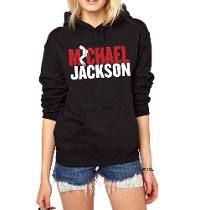 Blusa Michael Jackson Moletom Canguru!