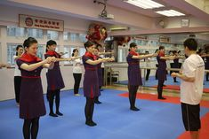 Hong Kong Airlines practicing the martial art Wing Chun by KTA Public Relations, via Flickr