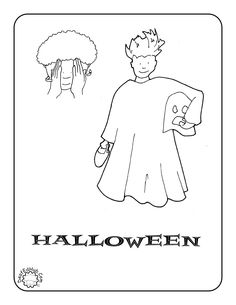 halloween asl coloring page