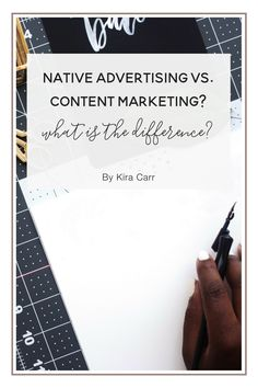 What's the Difference between Native Advertising and Content Marketing?