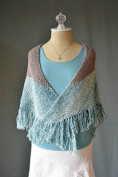 Adorn Seabird Shawl Free Knitting Pattern — NobleKnits Knitting Blog