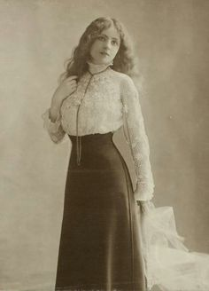 edwardian era blouses at DuckDuckGo 1900s Fashion, Edwardian Fashion, Vintage Fashion, Edwardian Dress, Fashion Women, Edwardian Clothing, Fashion Art, Fashion Trends, Photo Vintage