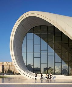 The Heydar Aliyev Center By Zaha Hadid Architects In Baku, Azerbaijan | Yatzer  #architecture ☮k☮