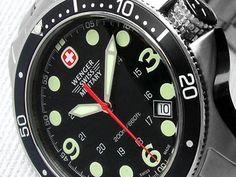 7fa32004036 Buy WENGER-Genuine Swiss Military- 200m Battalion Divers Watch  THE  ORIGINAL SWISS