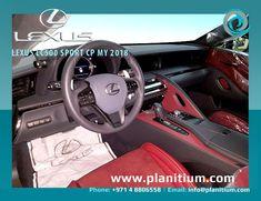 2018 Lexus LC500 Sports CP Car Interors. #LexusLC500Interior #2018LexusSports #2018LexusInterior