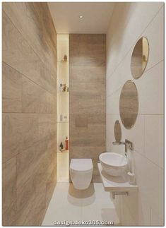 The other small bathroom design ideas are roomy and revolutionary, rethinking wh. - The other small bathroom design ideas are roomy and revolutionary, rethinking what we expect a bath - Small Bathroom Colors, Small Bathroom Vanities, Bathroom Layout, Modern Bathroom Design, Bathroom Interior Design, Bathroom Ideas, Small Bathrooms, Master Bathroom, Bathroom Mirrors