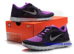 nike free run 3 dames zwart