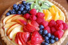 Fresh Fruit Tart | Rainbow Delicious