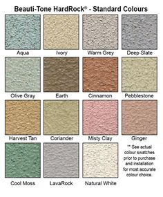 HardRock Roll On Stone Coating  For The Deck?