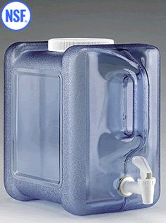 Take 2 with you while camping.  Fill 1 with dish soap & water, and the other with just water.  You now have a hand / dish washing station.