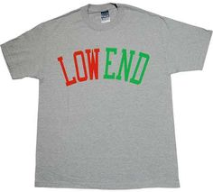 Manifest (A Tribe Called Quest) - Low End - Men's T-Shirt - Gray/ Red/ Green