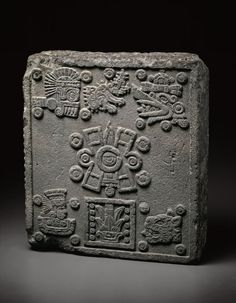 Coronation Stone of Motecuhzoma II (Stone of the Five Suns), 1503, Aztec, Art Institute of Chicago