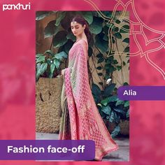 It's Fashion Face-off time! Deepika multi-hued saree styled with dangler earrings Vs Alia's minimalistic look teamed up with a cutesy Maangtika. Which look do you like better? 📸 @aliaabhatt @sabyasachiofficial @deepikapadukone  Let us know in the comment section below.  #askpakhuri #pankhuribride #fashionfaceoff #saree #loveforsaree #loveforsarees #sareelove #sareedraping #trousseau #trousseaupacking #weddingshoping #weddings #indianwedding #makeup #makeupartist #bridalgoals #fashionexpert #fas Royal Blue Lehenga, Black Lehenga, Yellow Lehenga, Bandhani Saree, Lehenga Saree, Vogue Wedding, Wedding Wear, Lehenga Wedding, Bridesmaid Outfit