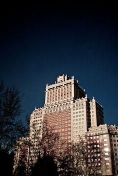 Edificio España, Madrid. España.
