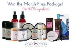 #Win Over $275 + in Product from our #March Brands!  The perfect way to welcome #Spring! xo