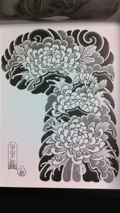 Japanese Flower Tattoo, Japanese Flowers, Full Hand Tattoo, Hand Tattoos, Asian Tattoos, Japan Tattoo, Chrysanthemum Flower, Tatoo, Paint Techniques