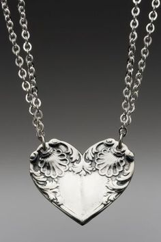 Sterling Silver Spoon Necklace