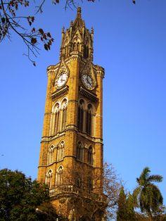 Rajabai Clock Tower Mumbai India - My home city where I grew up.