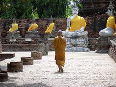 Thailand, Ayutthaia temple
