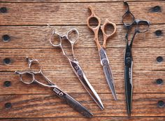 IN THE ISSUE Grooming Guide: Alfonso's exquisite Mizutani scissors from Japan. Electric Scissors, Hair Shears, Love Hair, Hair Tools, Shop Ideas, Barber Shop, Beards, Hairdresser, Cool Hairstyles