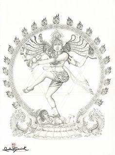 Mural Painting, Art Paintings, Watercolor Paintings, Shiva Art, Krishna Art, Art Sketches, Art Drawings, Ganesha Drawing, Lord Hanuman Wallpapers