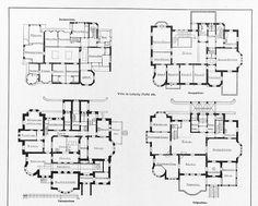 Villa in Leipzig, Schwägerichenstr. 23 Architekten Peter Dybwad Leipzig, Tafel 49, Grundriss