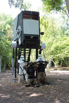 Climb to the top of the Scout Walker at Delta Force Paintball centre! Just make sure you don't get caught by storm troopers! #paintball #ScoutWalker