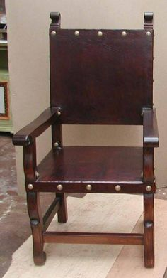 Spanish Colonial Armchair Renaissance Furniturecolonial Furniturespanish Revival