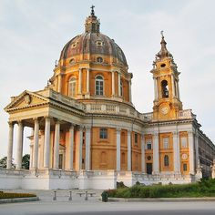 Turin, Piedmont, Italy Superga basilica ❤️Studió Parrucchieri Lory (Join us on our Facebook Page) Via Cinzano 10, Torino, Italy.