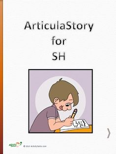 ArticulaStory for SH articulation therapy