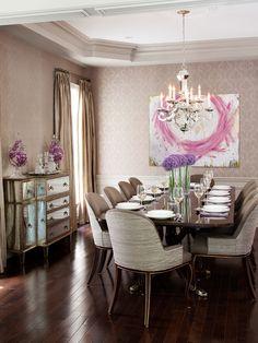feminine interiors   Sweet Feminine Interior Decor Applying Feminine Color Design : Lovely ...