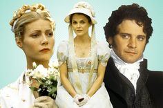 From Austenland to Price and Prejudice and everything in between.