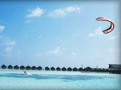 Kitesurfing at LUX* Maldives  Book now: http://www.concierge-hotels.com