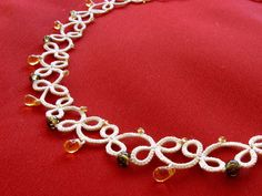 Tatting Pattern: tatting necklace