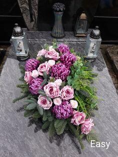 Funeral Flower Arrangements, Funeral Flowers, Fall Flowers, Wedding Flowers, Cemetery Flowers, Arte Floral, Ikebana, Floral Wreath, Wreaths