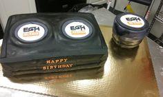 Speaker subwoofer cake
