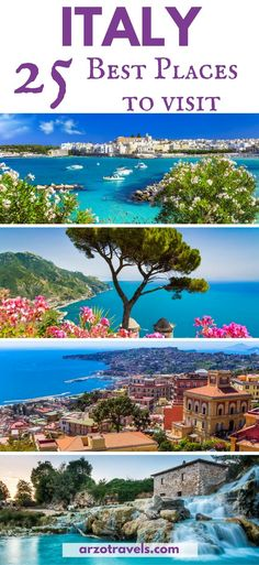25 amazing places to visit in Italy / Best places to visit I Most beautiful places in #Italy I where to go in Italy I Must-see cities in Italy I Must see paces in Italy